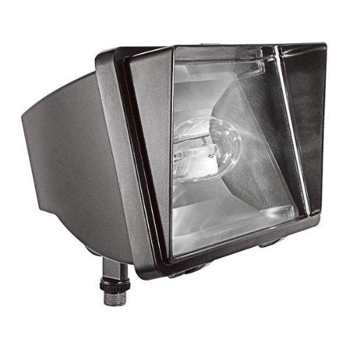 RAB Lighting FF150 High Pressure Sodium HID Future Floodlight, ED17 Type, Aluminum, 150W Power, 16000 Lumens, 120V, Bronze Color