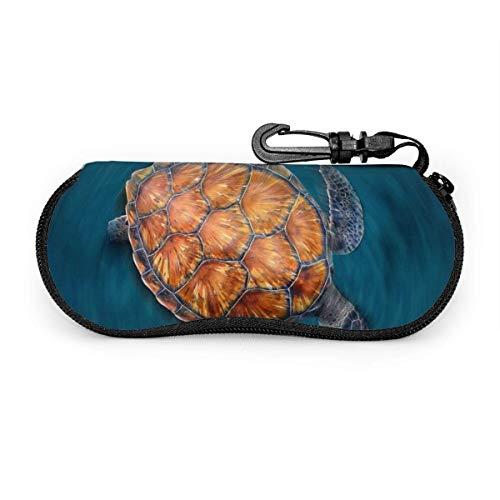 Wolf Spirit Sungses Soft Case Neoprene Portable Travel Slip in Zipper Eyegses Bag