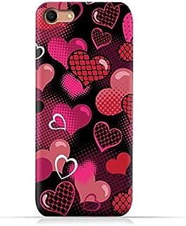 AMC Design Oppo A83 TPU Silicone Case with Valentine Hearts Seamless Pattern Design