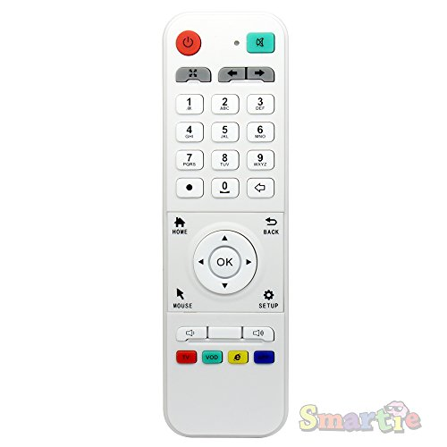 Loolbox Remote Control Replacement Unit - Compatible with Loolbox IPTV Box Only - Controller ONLY - Does Not Come with IPTV Player