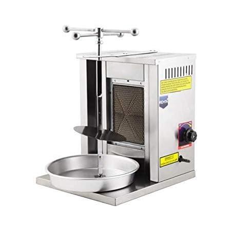 Mini Shawarma Machine Lpg Gas Doner Kebab Machine Vertical Broiler Gyro Machine For Home Commercial Restaurant Use