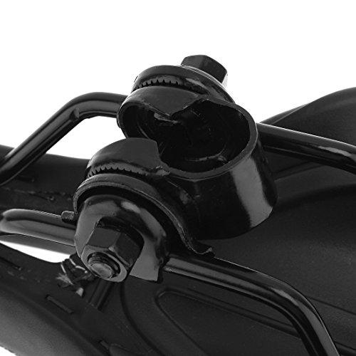origlam schwarz Fahrrad Sattel Sitz Bolt Sattelstütze Post Klemme Halterung 22,2mm - 5