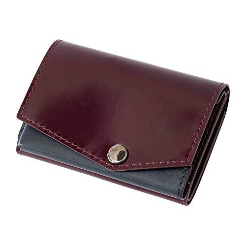 小さい財布 abrAsus アドバンレザー エディション (パープル)