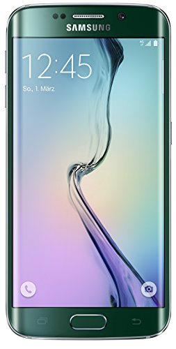 Samsung Galaxy S6 Edge Smartphone (5,1 Zoll (12,9 cm) Touch-Display, 64 GB Speicher, Android 5.0) grün
