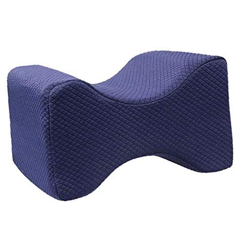 joyMerit Orthopädisches Kniekissen Memory Foam Wedge Leg Pillows, Linderung Von - Tiefblaues Gitter
