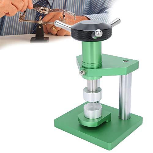 Máquina taponadora en espiral, máquina taponadora en espiral para prensa de reloj, tapa trasera de caja de prensa de reloj