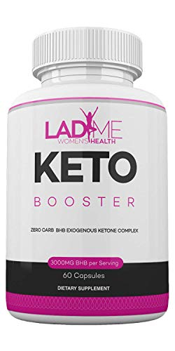 Keto Weight Management Pills for Women- BHB Exogenous Ketones for Energy Boost & Weight Management for Women- Zero Carb Fat Burner for Women - Made in USA - 60 Capsules by LadyMe 1