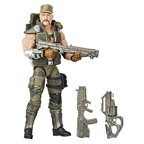 Hasbro G.I. Joe Classified Series Gung Ho Action Figure 07 Collectible Premium Toy with Multiple Accessories 6-Inch Scale with Custom Package Art