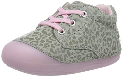 Lurchi Baby Mädchen FLIA Sneaker, Grau (Grey Rose 25), 19 EU