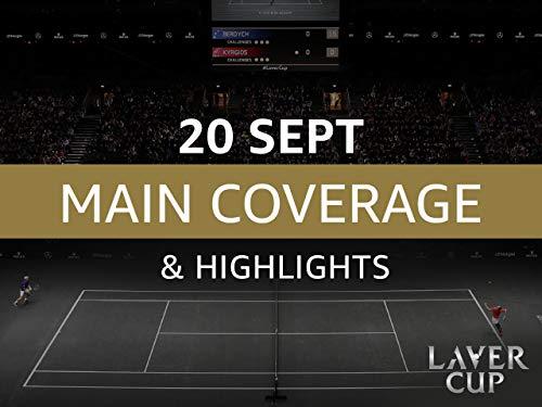 Laver Cup 2019 - 20. September Übertragung und Höhepunkte