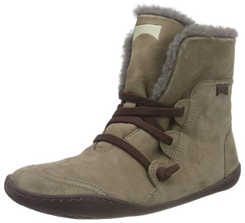 Camper Womens Peu Cami Ankle Boot, Medium Gray, 37 EU