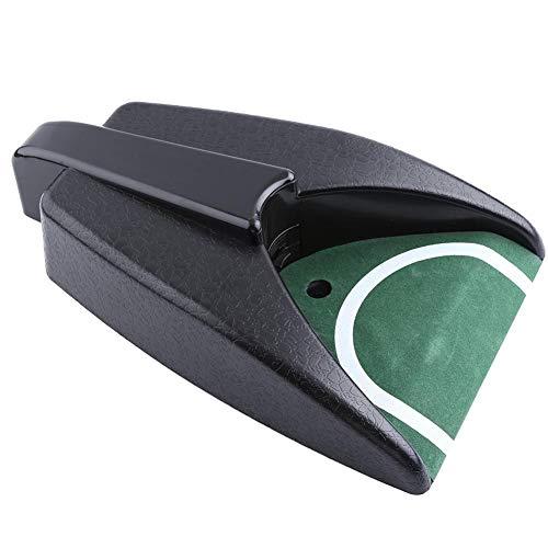 Golf Copa de Putting Automática Copa de Entrenamiento de Golf de Devolución Automática Ayuda de Entrenamiento Bola de Golf de Interior al Aire Libre Retorno Putting Mat para Práctica de Golf