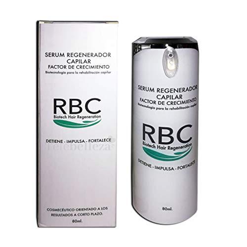 RBC Serum regenerador capilar Factor de crecimiento - 80ml.