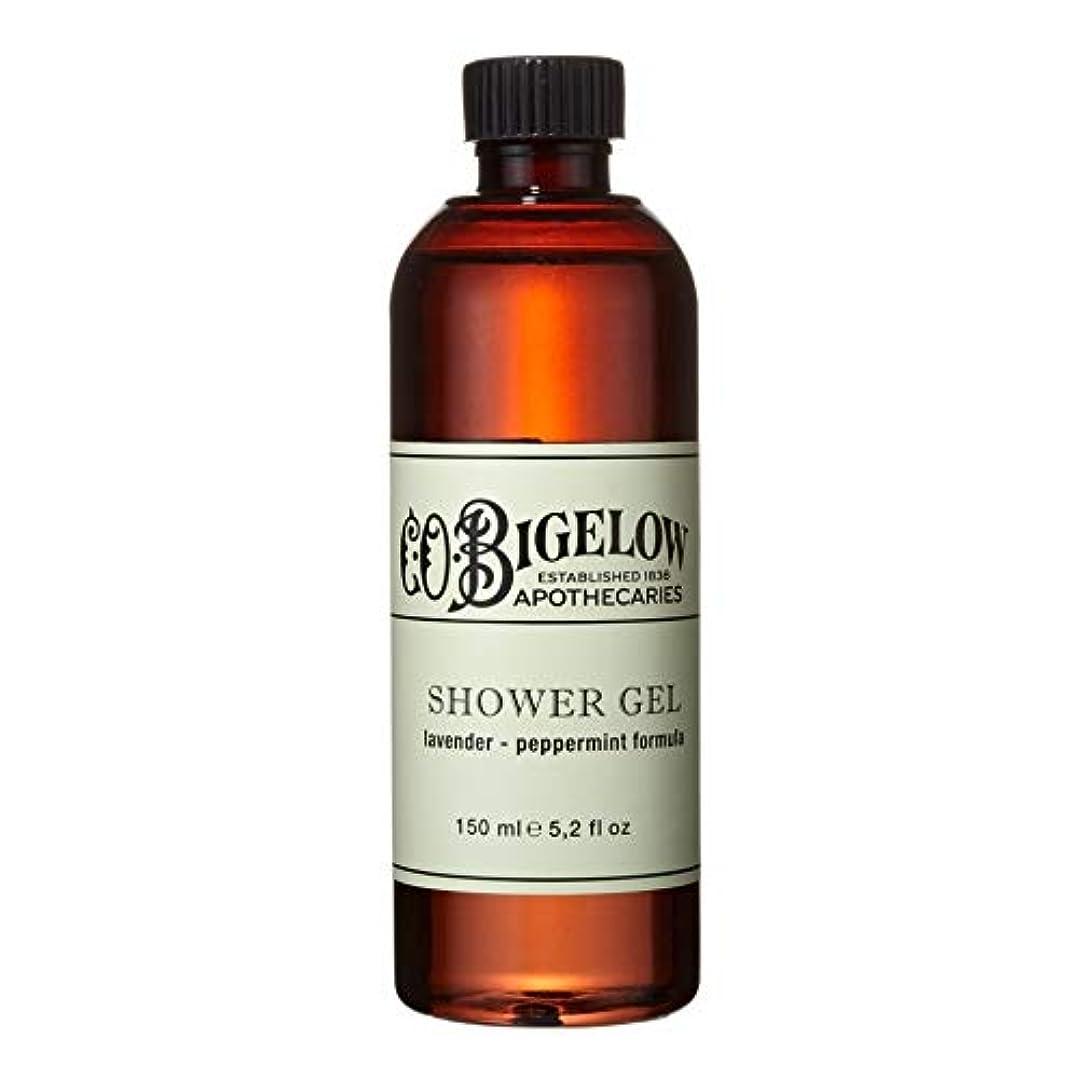 バンジージャンプ祭司消費[C.O. Bigelow] C.O.ビゲローラベンダー、ペパーミントシャワージェル150Ml - C.O. Bigelow Lavender and Peppermint Shower Gel 150ml [並行輸入品]