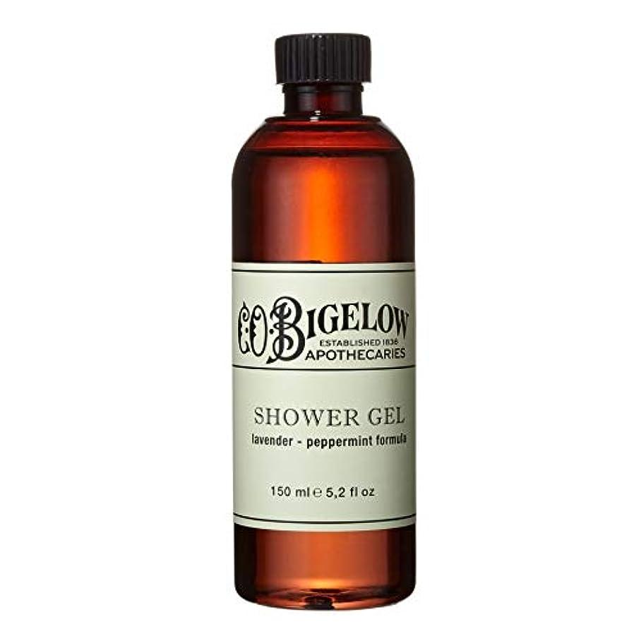 閉塞金属飛行場[C.O. Bigelow] C.O.ビゲローラベンダー、ペパーミントシャワージェル150Ml - C.O. Bigelow Lavender and Peppermint Shower Gel 150ml [並行輸入品]