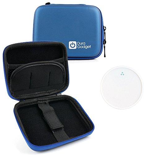 Duragadget Viola Rigida EVA a doppia zip Custodia protettiva per l/'uso con Apple iPad Mini 4