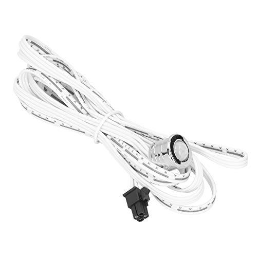 DAUERHAFT Durable con un arnés de Cables Sensor infrarrojo de 120 Grados Interruptor de inducción de Movimiento fácil de Instalar, para lámparas de Armario