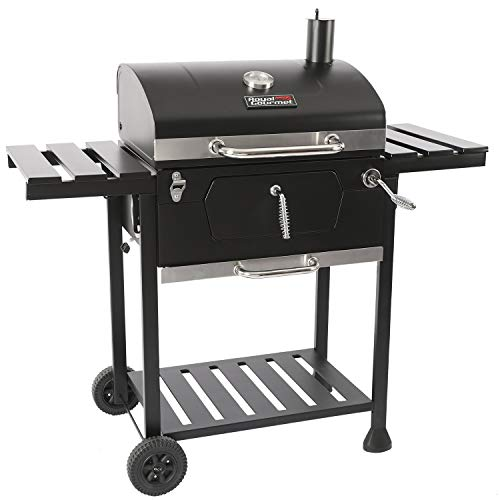 Royal Gourmet CD1824E 24-Inch Charcoal BBQ Grill, Black