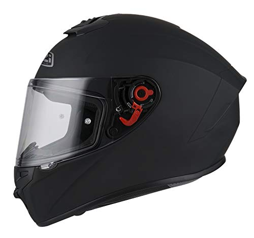 NZI - Casco Integral NZI Trendy (M 57-58 cm, Matt Black)