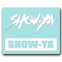 絵柄だけ残る ステッカー S 「SHOW-YA」 白 057W