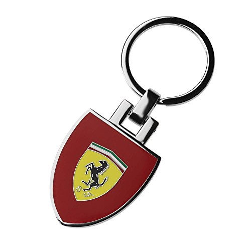 Ferrari Schlüsselanhänger Scudetto rot Wappen