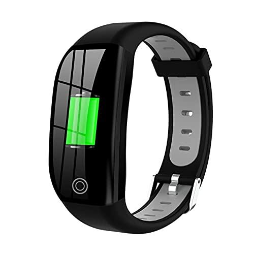 """MARSPOWER DT35 F21 Smart Bluetooth Watch 1.14 """"Pantalla a Color Pulsera Inteligente Rastreador de Ejercicios a Prueba de Agua con Monitor de frecuencia cardíaca y sueño para Android iOS - Verde"""