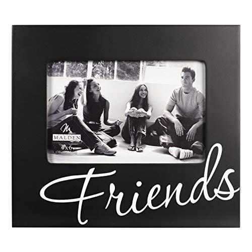 Malden International Designs Friends in Cursive Words Picture Frames, 4x6,...