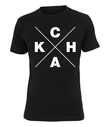 Chakuza T-Shirt CHAK, Farbe:schwarz, Größe:S