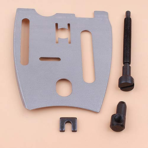 Jammas Guide Bar Plate Chain Tensioner Adjuster Screw Kit For JONSERED 625 630 670 2077 2083 Chainsaw