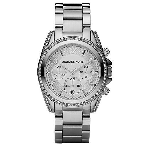 Michael Kors Blair MK5165 Reloj de Pulsera para Mujeres con Zircones