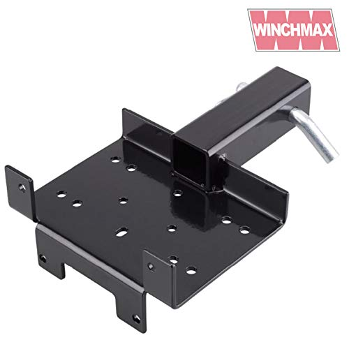 "Mobile Winch Mounting Plate For Winches up to 3,000lb - 2"" Receiver Hitch"