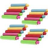 Shuny 20 PCS fundas de plástico ajustables funda funda tiza Titular de Tizas Coloreado para tizas funda tiza de elefante de plástico para escuela prof