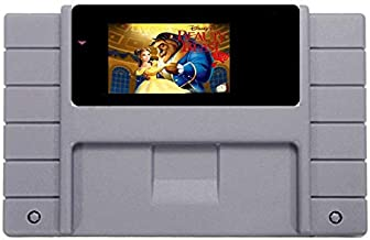 Brothe Wiz Beauty And The Beast Game Card For 46 Pin 16 Bit NTSC Game Player