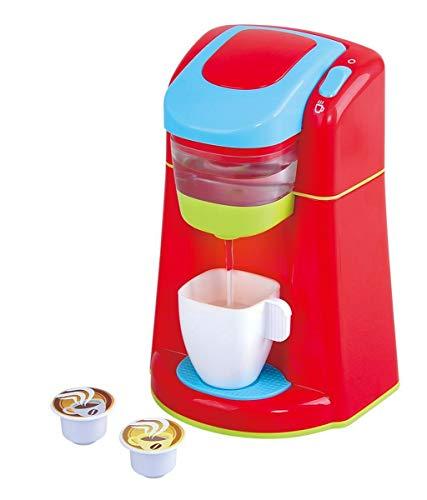 Playgo Kaffeemaschine Kapsel Espressomaschine für Spielküche
