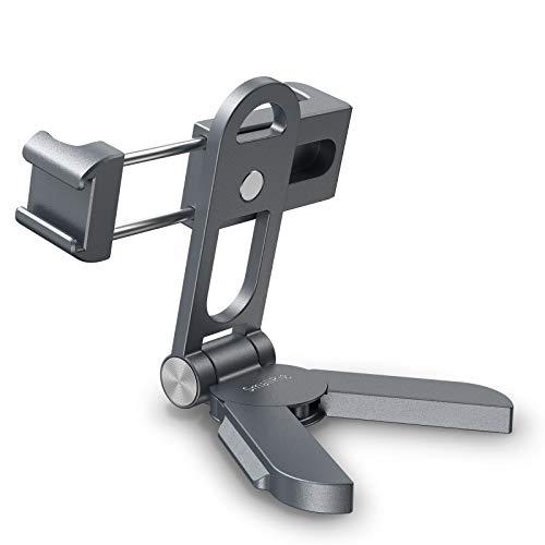 SMALLRIG Adaptador de trípode de Mano, Soporte para teléfono con Soporte para Zapata fría y Placa de liberación rápida Compatible con Arca, para transmisión en Vivo y Registro de Vlogging - BSP2415
