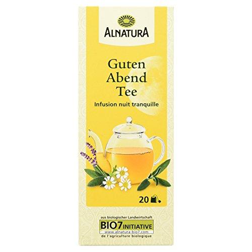 Alnatura Bio Guten Abend Tee, 20 Beutel, 30g
