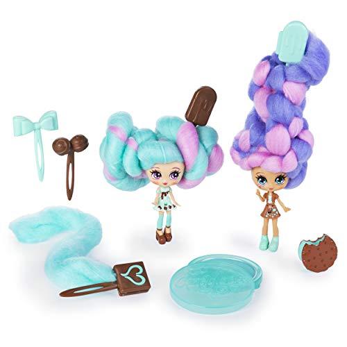 Candylocks 6054716 - Beste Freundinnen 2er Pack, Mint Choco Chick und Choco Lisa