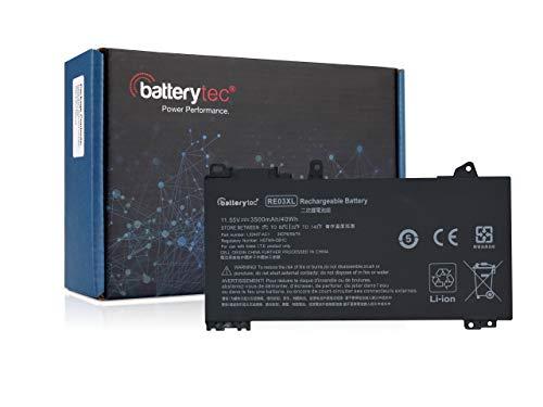 Batterytec Bateria para HP RE03XL HSTNN-0B1C HSTNN-DB9A, HP ProBook 430 G6 440 G6 450 G6 455 G6 455R G6, zhan 66 G2 14 66 Pro 13 G2, HSTNN-UB7R L32407-2B1 L32407-2C1 L32407-AC1 L32656-002 L32656-005.