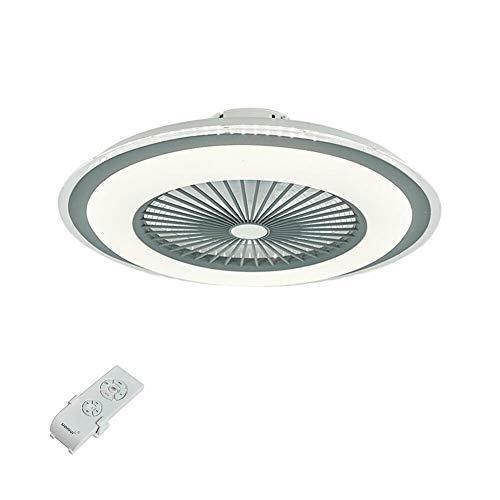 Ventilador de techo LED de 23 pulgadas con iluminación, 2 en 1, lámpara de ventilador, lámpara de araña