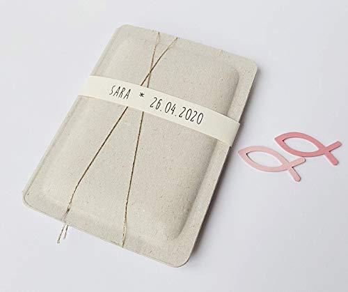 Konfirmation Geschenk Karte Geldgeschenk personalisiert pink