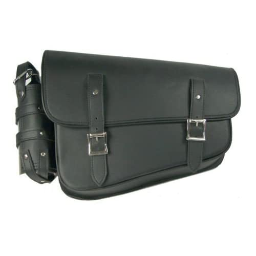 x 11.5in x 4.5in - Black Synthetic Leather 10.5in Dowco Universal Swing Arm Bag