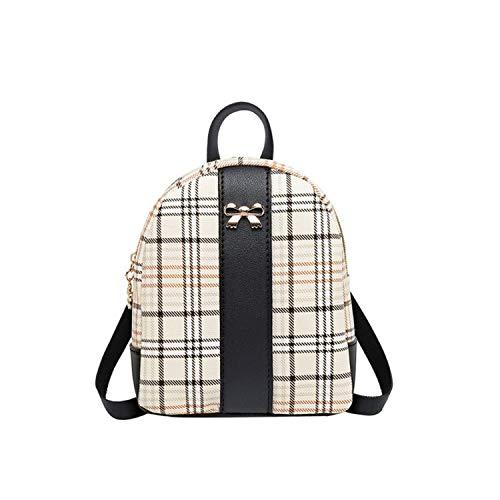 Ghosthunter Backpacks Damen Rucksack für Studenten, Schulranzen für Teenager, Mädchen, Sommer, Strandtasche, Reisen, Mini-Rucksack, Schwarz - Schwarz - Größe: Einheitsgröße