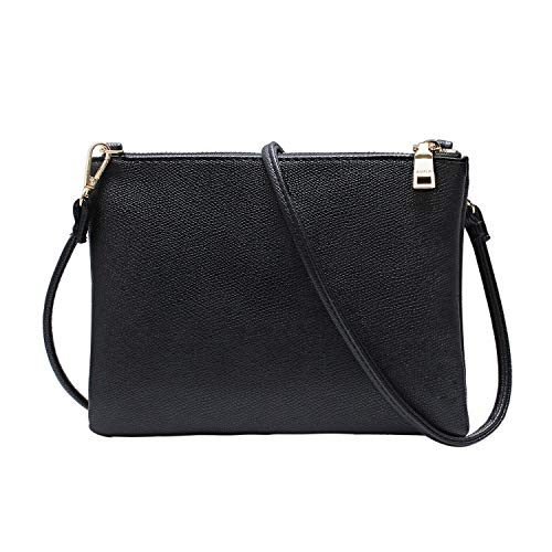 Crossbody Bag for Women, Small Shoulder Purses and Handbags LightweightPU Leather Wallet with Detachable Straps