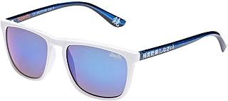 Superdry Shockwave Square Unisex Sunglasses - White- SDSHOCKWAVE-140-55-17-145