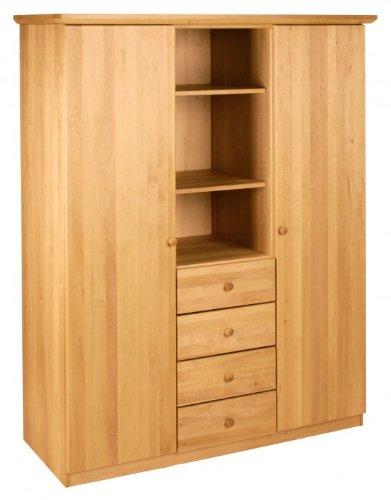 BioKinder 22123 Tre pezzi Guardaroba Lena, biologico legno