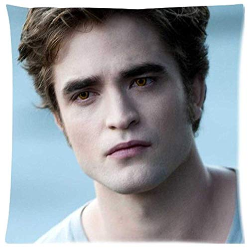 Kristopher Van Ohlen The Twilight Saga Robert Pattinson Edward Cullen Custom Zippered Pillow Cases (Twin Sides) 20 * 20 Inch