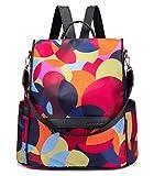 shepretty Mochila Oxford antirrobo Impermeable para Mujer Color, 648-BKColor-L
