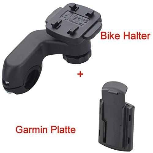 S1HF4 Bike Fahrrad Halterung für Garmin Oregon Serie 450 600 650 550 700 eTrex Touch 25/35 GPSmap Serie 62 64 Halter