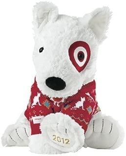 Target Limited Edition Holiday Bullseye Dog Plush St. Jude's 2012
