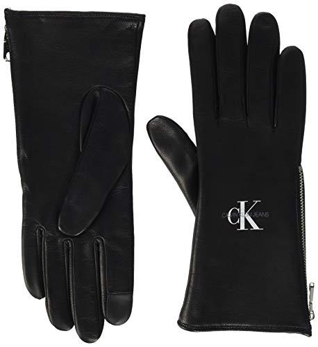 Calvin Klein Gloves LTH Ensemble d'accessoire d'hiver, Noir, M/L Femme